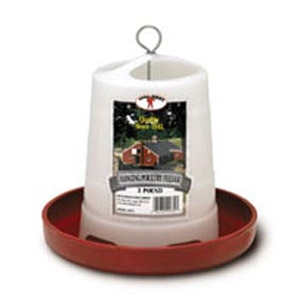 Little Giant® 3 Lbs. Plastic Hanging Poultry Feeder