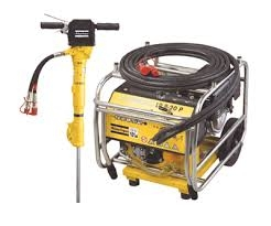 Hydraulic Power Pack with 90lb Hammer