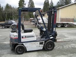 Forklift 3000lb gas, 15' high