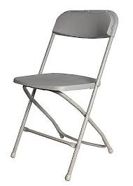 Chair, Grey Samsonite