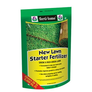 Ferti-lome® New Lawn Starter Fertilizer 5M 9-13-7