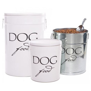 Harry Barker Classic Dog Food Storage Canisters