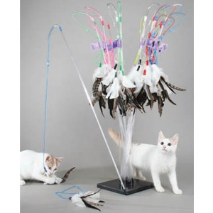 Vee Enterprises Purrfect Feather Cat Toy
