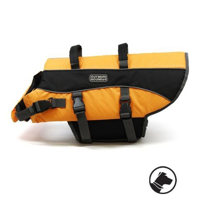 Outward Hound Lifejacket Extra, Extra Small Orange