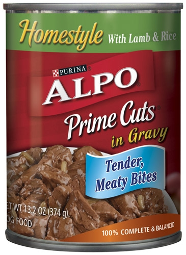 Alpo Canned Dog Prime Cuts Lamb & Rice 24/13.2 oz. Pack