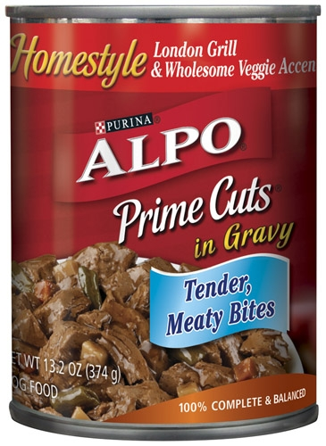 Alpo Canned Dog Prime Cuts London Grill 24/13.2 oz. Pack