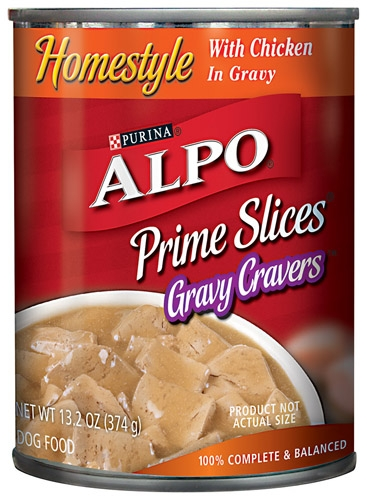 Alpo Prime Slices in Gravy w/ Chicken