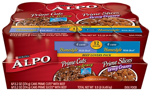 Alpo Prime Beef Lovers Variety Pack