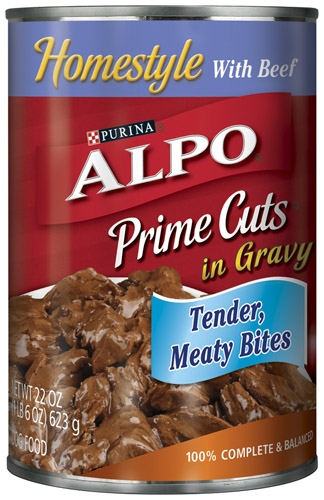 Alpo Canned Dog Prime Cuts Beef 12/22 oz. Pack