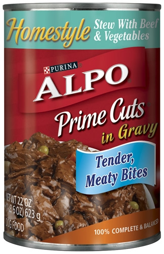 Alpo Canned Dog Prime Cuts Beef Stew 12/22 oz. Pack