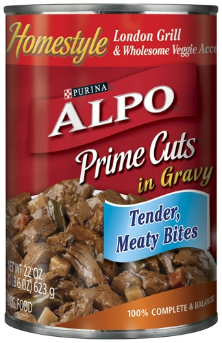 Alpo Canned Dog Prime Cuts London Grill 12/22 oz. Pack