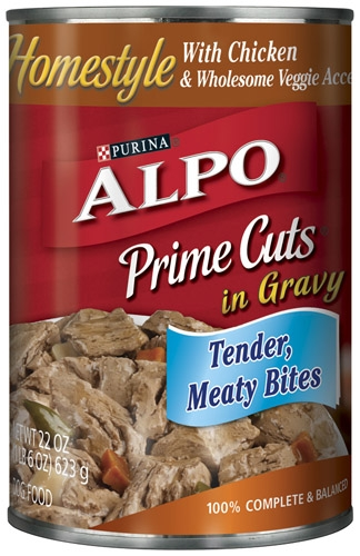 Alpo Canned Dog Prime Cuts Chicken 12/22 oz. Pack
