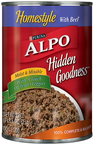 Alpo Hidden Goodness Beef Dog 12/22OZ