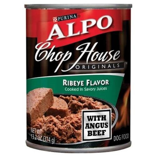 Alpo Chop House Originals Ribeye Flavor, 24/13.2 Oz