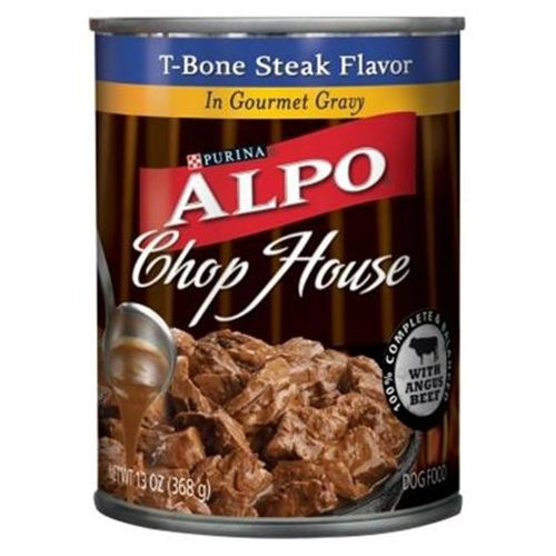 Alpo Can Dog CHopHouse Gourmet Gravy T-Bone 24/13.2 oz. Pack