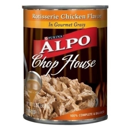 Alpo Can Dog ChopHouse Gourmet Rotis Chicken 24/13.2 oz. Pack