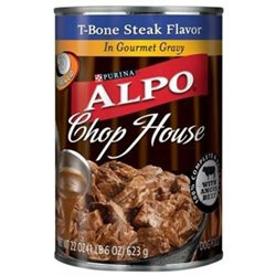 Alpo Canned Dog ChopHouse Gourmet Gravy T-Bone 12/22 oz. Pack