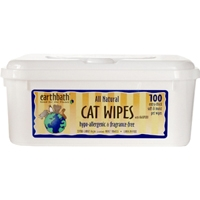Earthbath Cat Wipes 28 Count