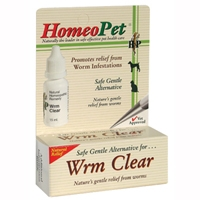 HomeoPet WRM Clear 1.6 oz.