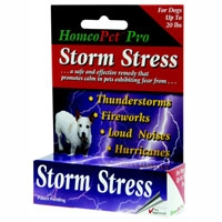 HomeoPet Storm Stress K-9 under 20 pounds 1.6 oz.