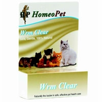 HomeoPet WRM Clear Feline Specific 1.6 oz.