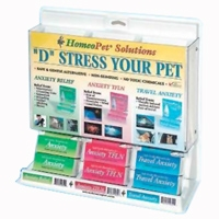 HomeoPet D-Stress Center 15 piece display
