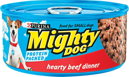 Mighty Dog Hearty Beef Dinner 24/5.5 oz.