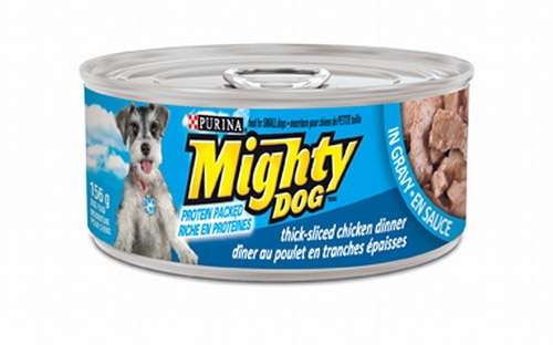 Mighty Dog Thick-Sliced Chicken Dinner in Gravy 24/5.5 oz.