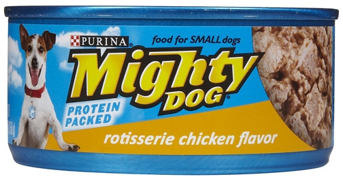 Mighty Dog Rotisserie Chicken Flavor 24/5.5 oz.