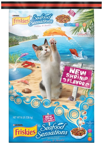 Friskies Seafood Sensations Cat 16 lb.