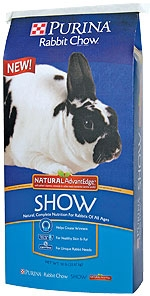 Purina Mills Advanced Nutrition Rabbit Show Formula 50lb.