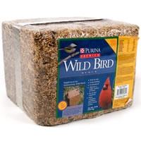 Purina Mills Premium Wild Bird Food Block 20 lb.