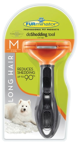 Furminator Deshed Tool Medium Dog Long-Hair