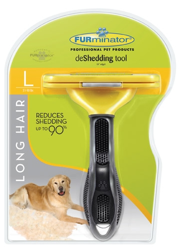 Furminator Deshed Tool Large Dog Long-Hair