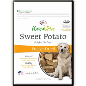 Pure Vita Sweet Potato Freeze Dried  Dog Treats