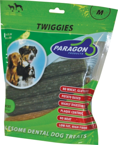 Paragon Dental Treat Twiggies 6/14 Count Pouch