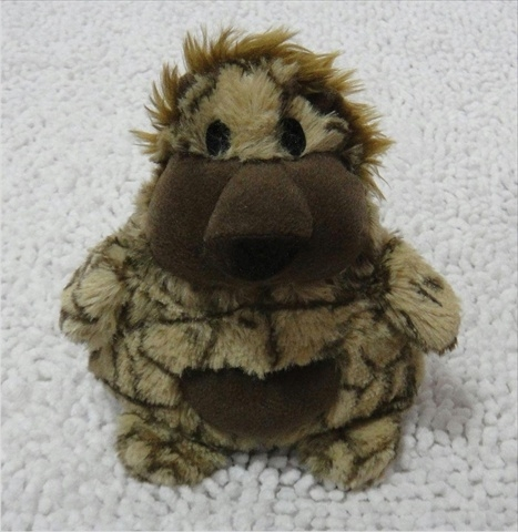 "Patchwork Pet Chocolate Lion 8"" Plush Toy"