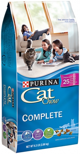 CAT CHOW COMPLETE 5/6.3 LB  CASE
