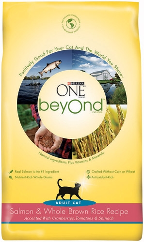 Purina One Beyond Cat Salmon/Brown rice 12/16oz