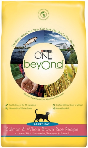 Purina One Beyond Cat Salmon/Brown Rice 5/6lb