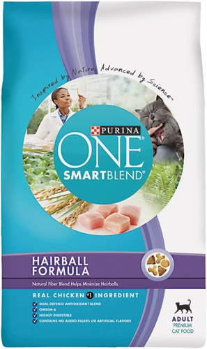 Purina One Cat Advanced Weight Hairball