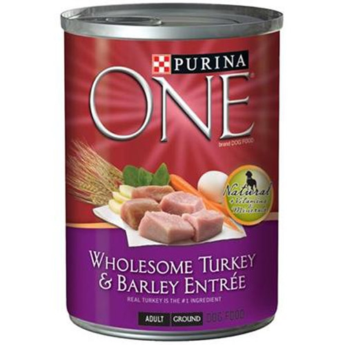 Purina One Canned Dog Turkey/Barley