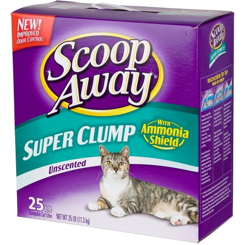 Everclean Scoop Away Free Unscented Cat Litter 20 lb. Box