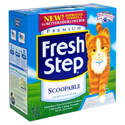 Fresh Step Odor Shield Scoop Box