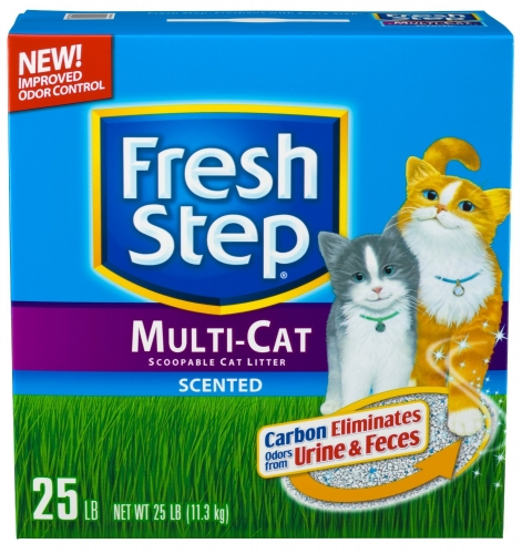 Everclean Fresh  Step Multi Cat 25 lbs