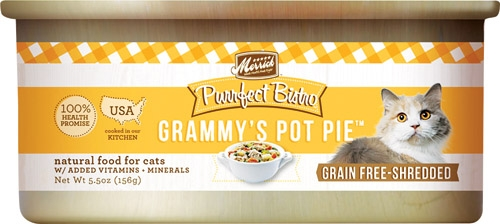 Purrfect Bistro Grammy's Pot Pie  5.5 oz Cat