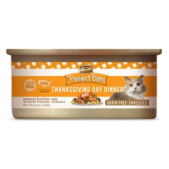 Purrfect Bistro Thanksgiving Day Dinner 5.5 oz Cat