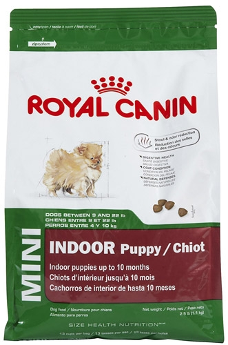 Royal Canin Mini Indoor Puppy 4/2.5#