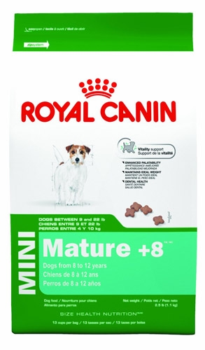 Royal Canin Mini Mature +8 Dog 2.5 lb