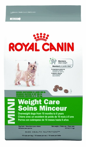 Royal Canin Mini Weight Care Dog 2.5 lb